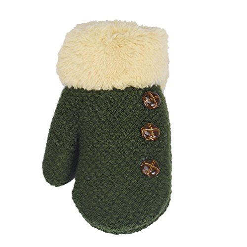 FORESTIME Infant Baby Cute Star Print Hot Girls Boys Of Winter Warm Gloves